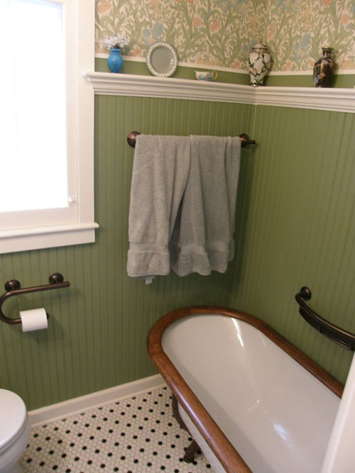 Wainscoting In Bathroom